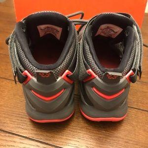 Nike Shoes - Lebron James Soldier IX Gray & Hit Lava NIB